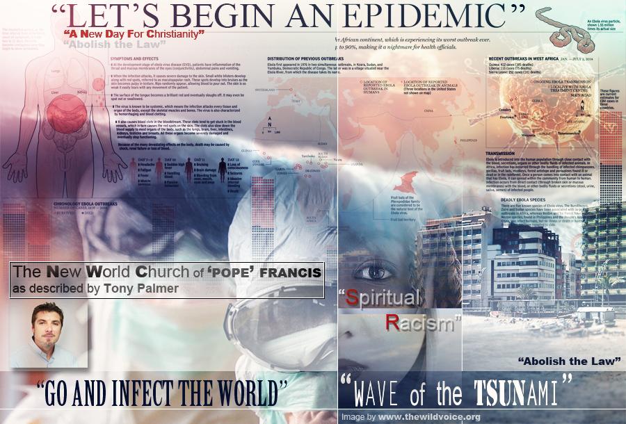Tony, Palmer, New, World, Church, Pope, Francis, Tsunami, Epidemic, spiritual, racism, The, Wild, Voice, Maria, Divine, Mercy, False, Prophet