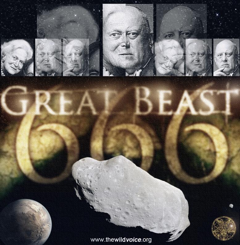 Asteroid, the Beast, 666, book, of, revelation, apocalypse, Bible, prophecy, false, prophet, pope francis, bergoglio, one, world, church, NWO, ISIS, meteor, satan, Jesus