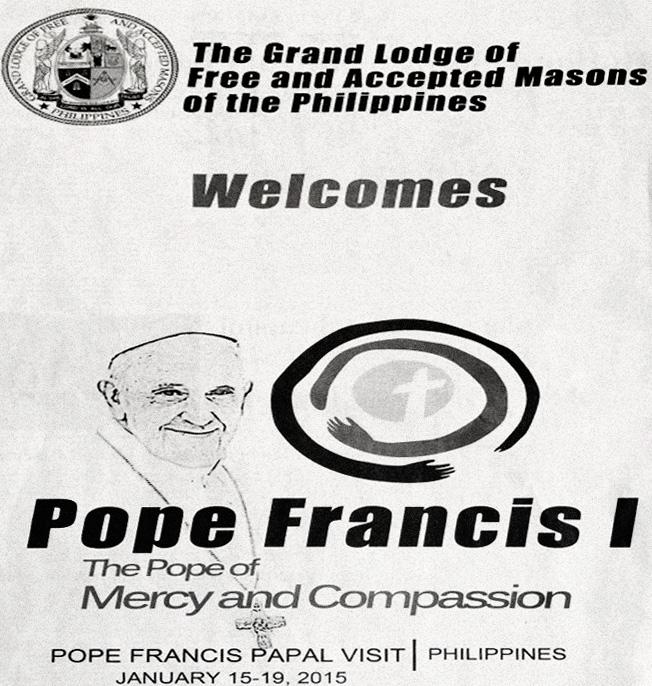 Pope Francis mason