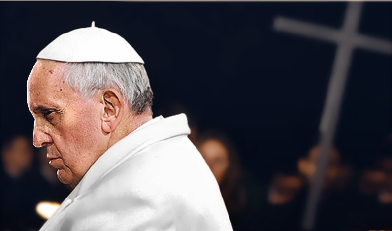 Pope, Francis, Jorge, Mario, Bergoglio, Mass, holy, false, prophet, changes, words,