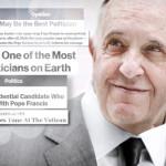 Pope Francis business suit