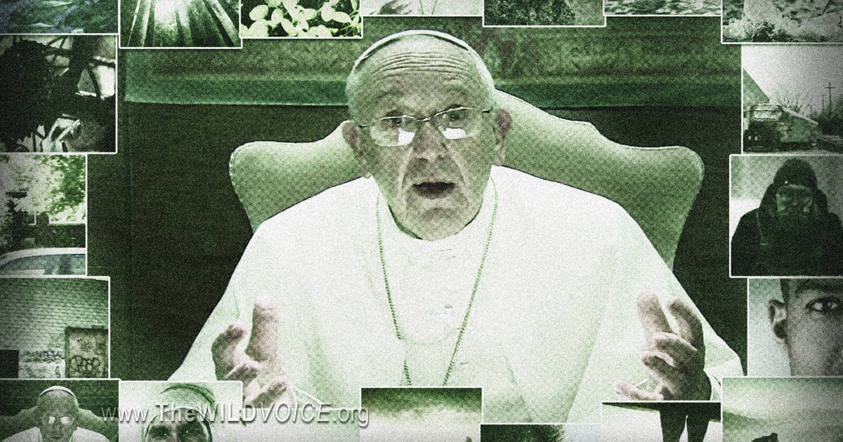 the green pope