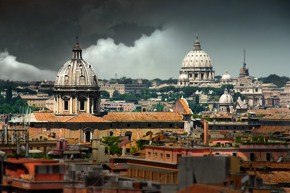 Church, Rome, Catholic, Sant'Andrea Della Valle, St. Peter's Basilica, image, foto, The Wild Voice, False Prophet,