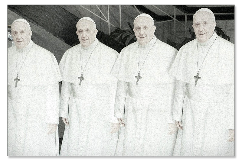 pope francis cardboard cutouts