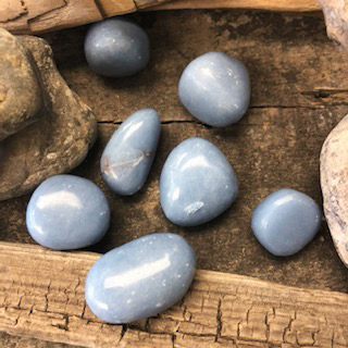 Tumbled Stones – Angelite