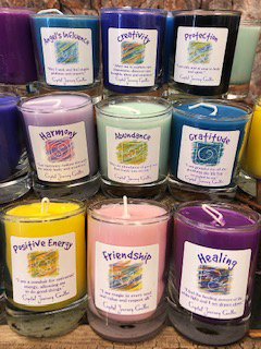 Soy Candles – Abundance – Green