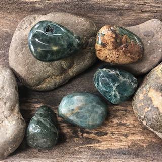Apatite (Blue)