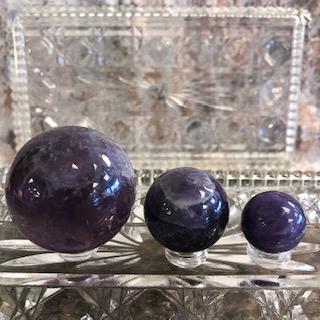 Amethyst Spheres – Large