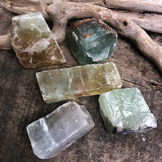 Green Calcite – Large