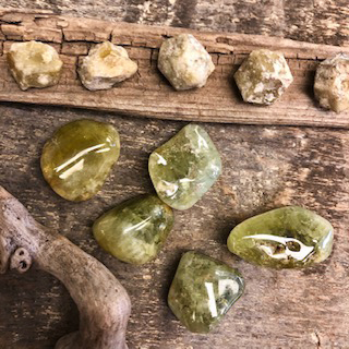 Garnets-Green – Polished