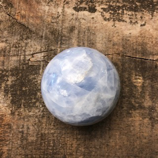 Blue Calcite Sphere – XXL