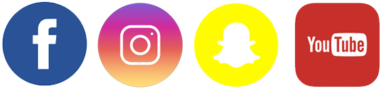 Social Media Icons for NDARNG