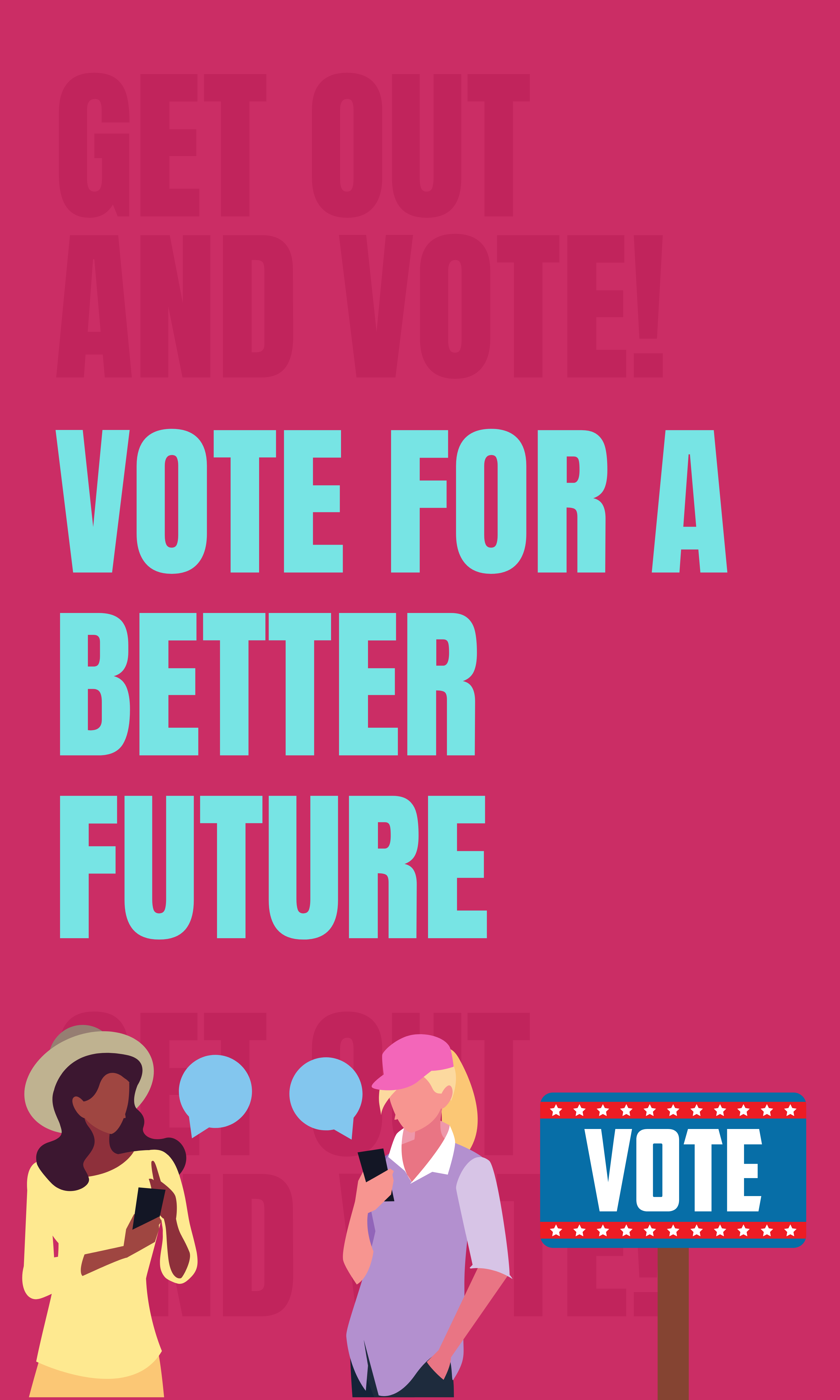 Pink and Orange Campaign Banner-15
