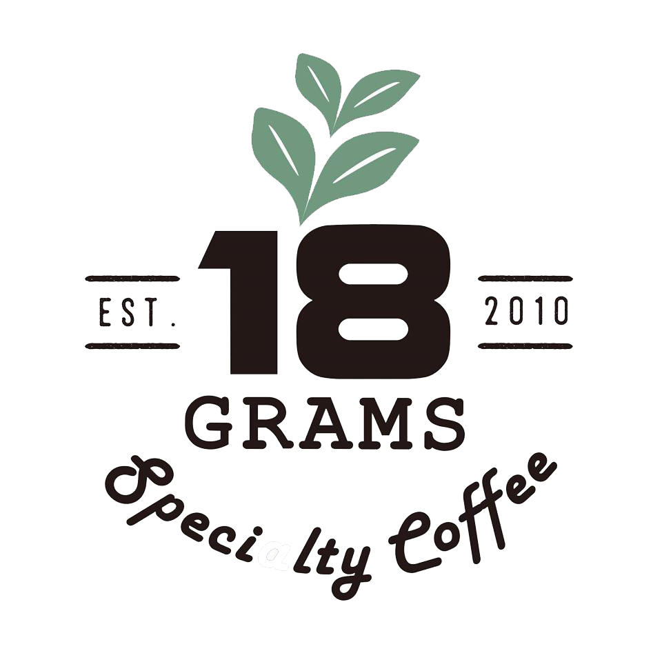 18 Grams Specialty Coffee logo