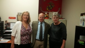 County of Riverside Dept. of Veteran Services with Jeannette Phillips and the Director Grant Gautsche
