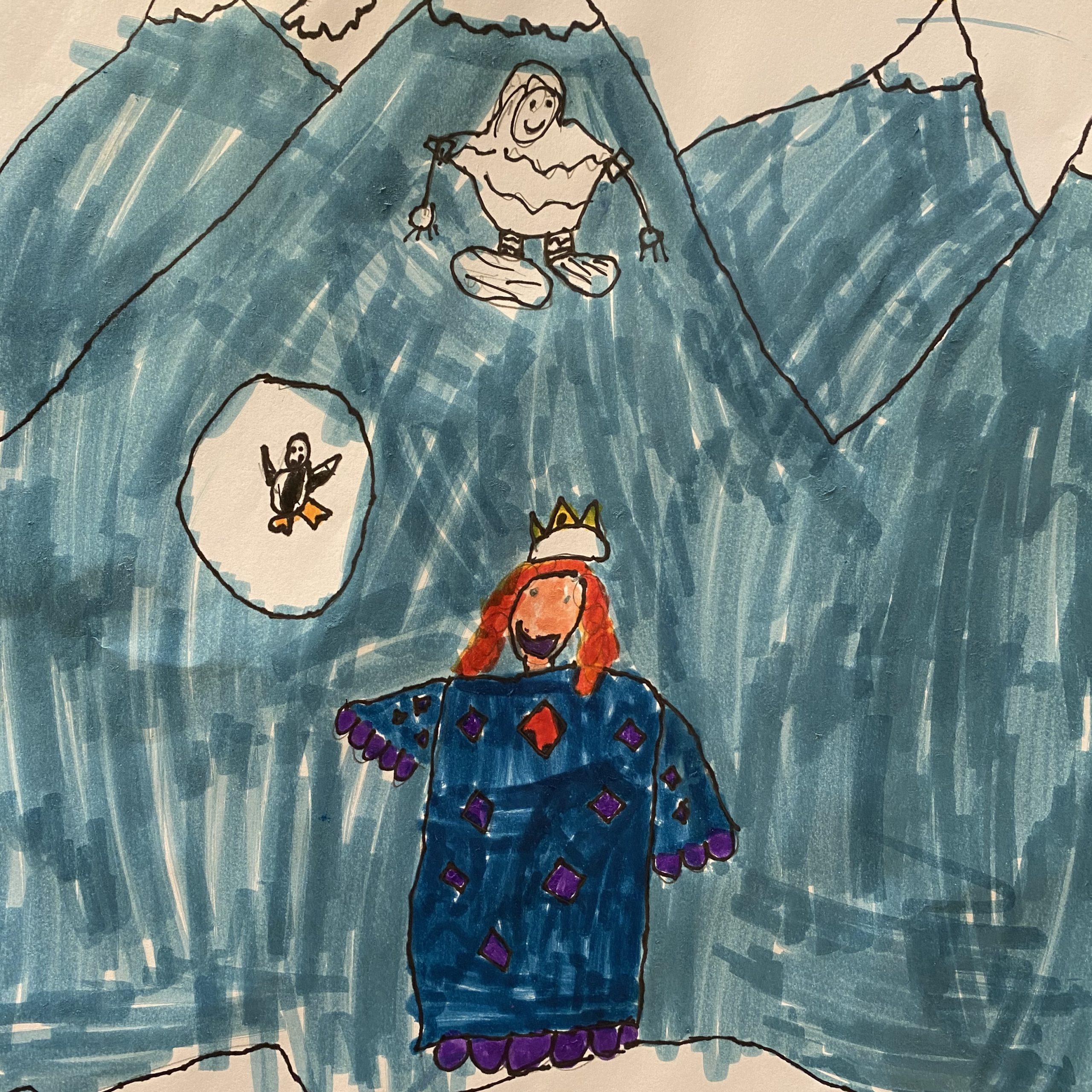 the winter princess elsa 1st grade age 7