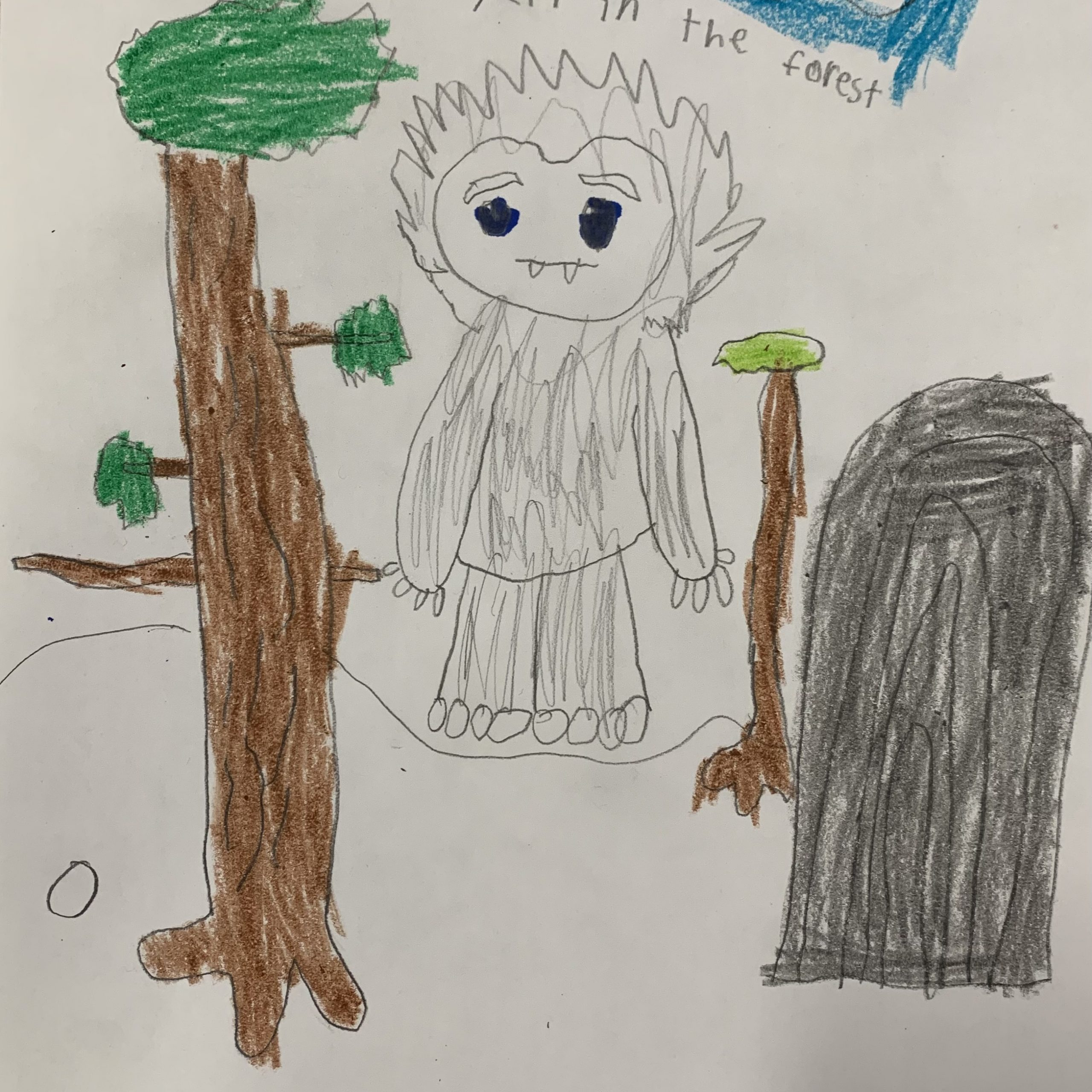 yeti in the forest evan b