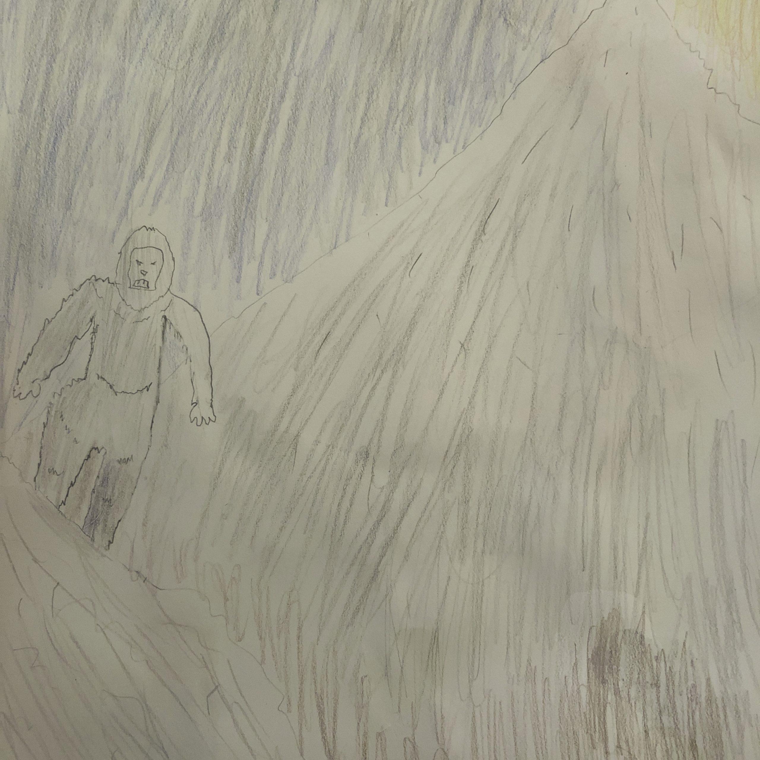 yeti on a mountain grade 10
