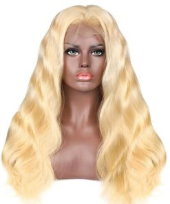 Blonde Bodywave Lace Frontal Wig