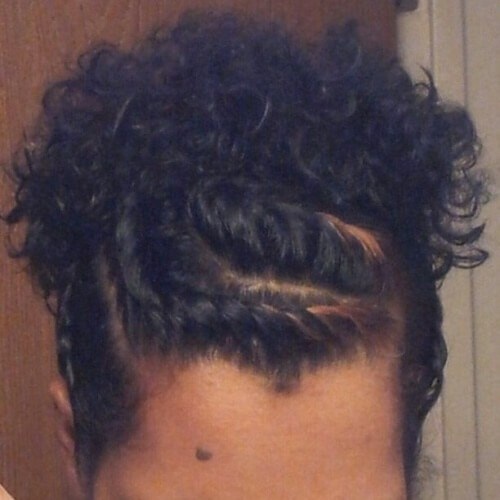 Protective styles for natural short hair