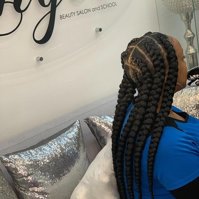 African Braids at Touched by angel salon, atlanta