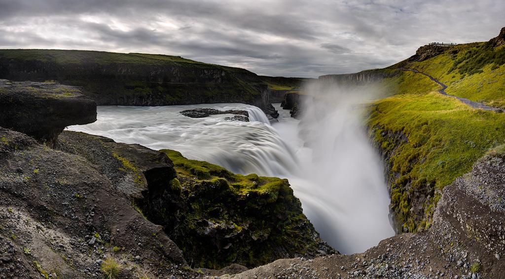 Gulfoss_Panorama3_DoubleLayerFused-Edit
