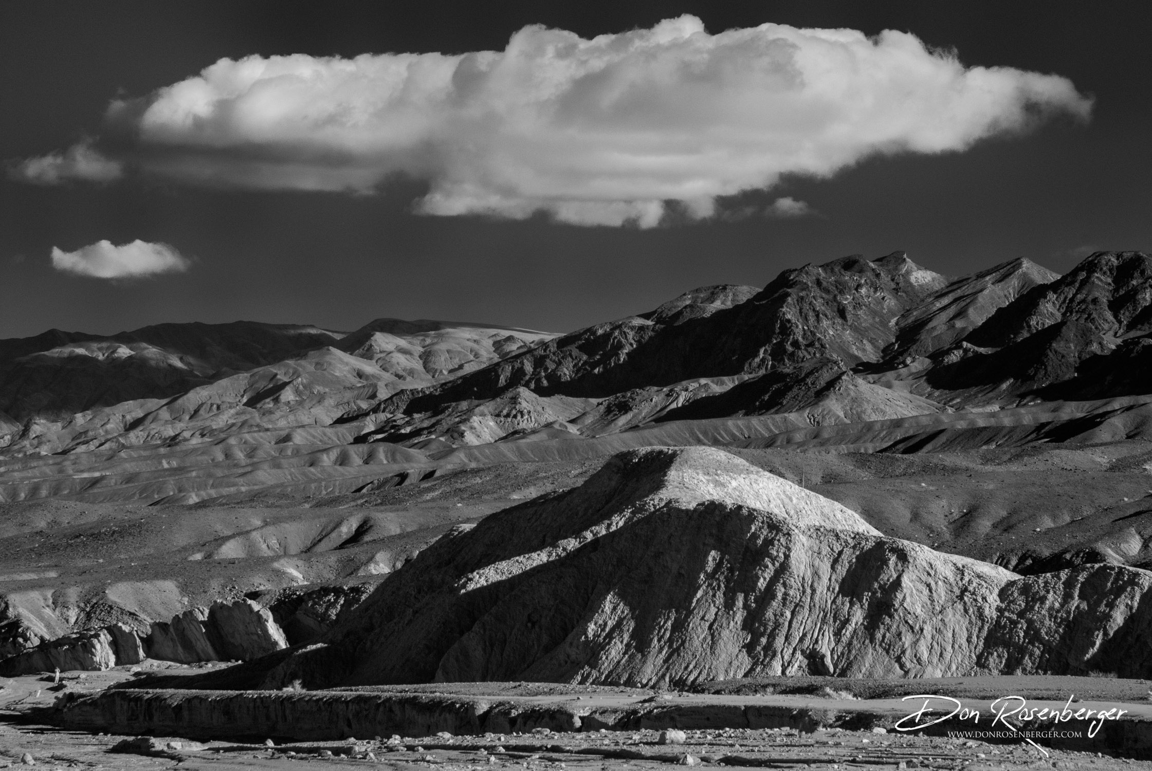 The Desert in Infrared