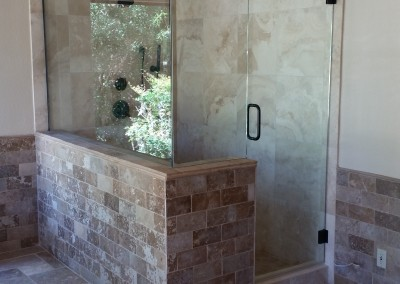 "Large 3/8"" shower Scottsdale"