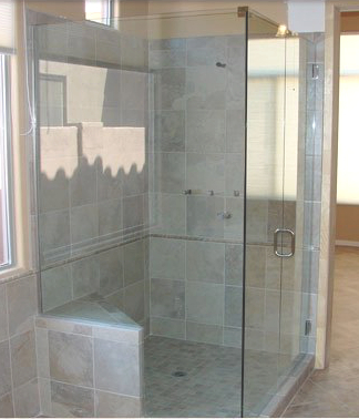 Corner shower enclosure Scottsdale