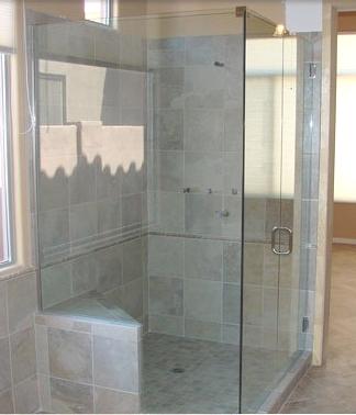 Corner shower enclosure Scottsdale