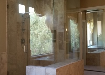 Large walk in shower Scottsdale