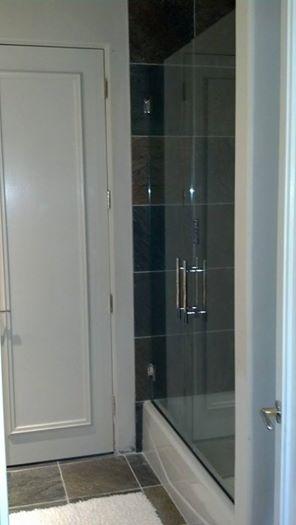 Double bathtub glass european