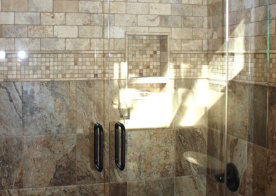 Scottsdale area framless bath tub enclosure