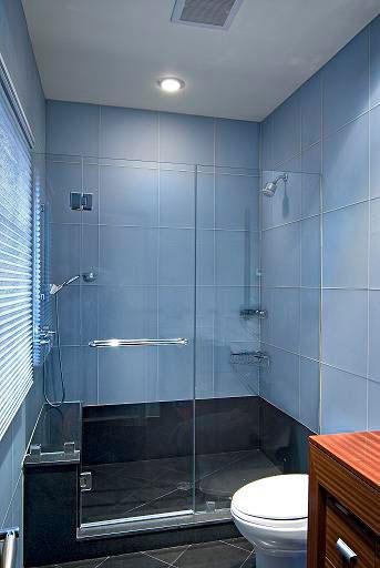Shower glass doors