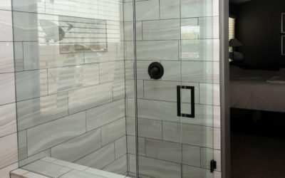Sophisticated looking modern Showers