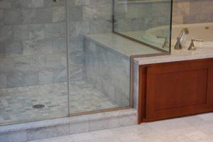 Bench shower