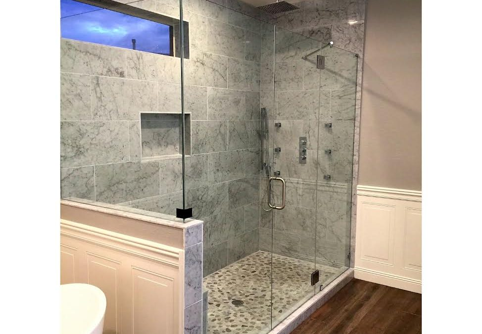 Walk in Frameless Shower