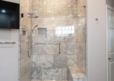 Eurotek frameless barn shower