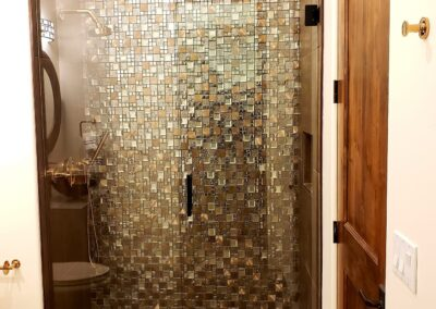 180 shower glass