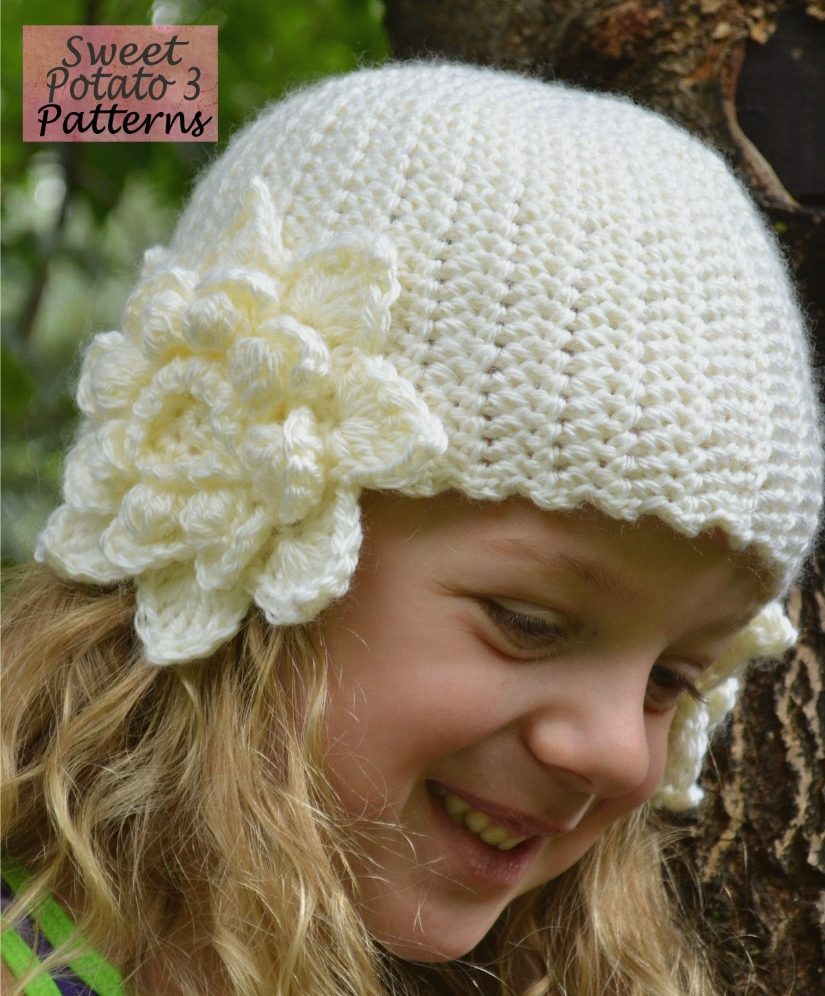 You are currently viewing Flower Earflap Hat Pattern Release