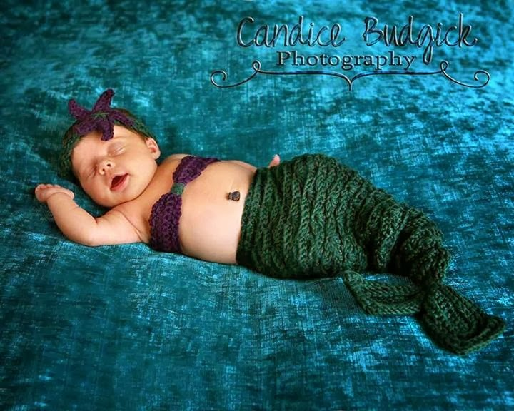 You are currently viewing Mermaid Set Crochet Pattern – Added Sizes!