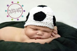 Soccer Ball Crochet Hat Pattern
