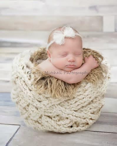 Cable Bucket Wrap Free Crochet Pattern