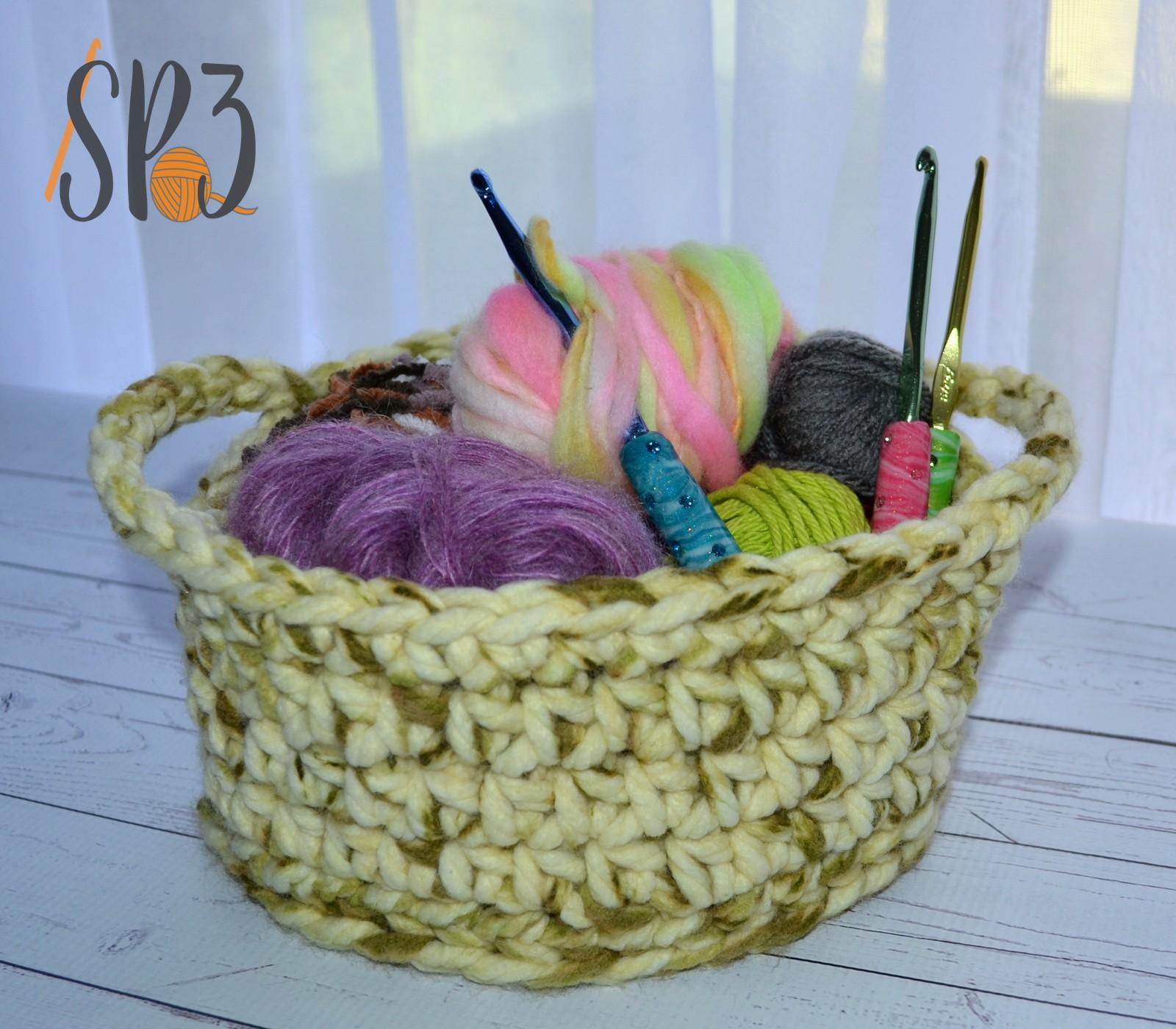 Free Simple Crochet Basket Pattern