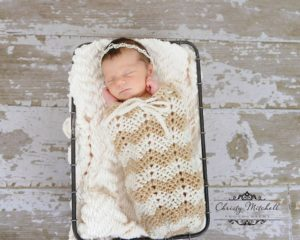 Chevron Swaddle Pod – Photo Prop Pattern Release