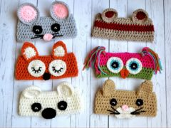 animal ear warmers