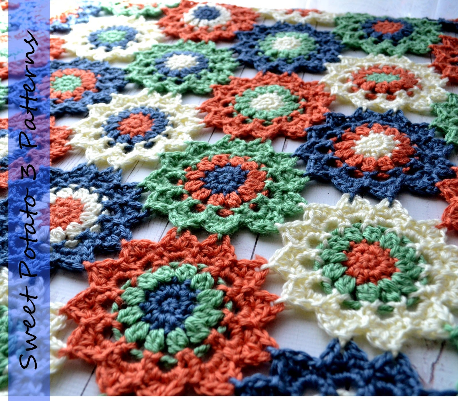 You are currently viewing Flower Motif Blanket Pattern Release