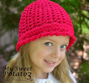 Sweet Braids Hat Pattern Release