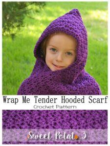 Hooded Scarf Wrap Me Tender