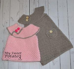 Classic Sweater Dress Crochet Pattern